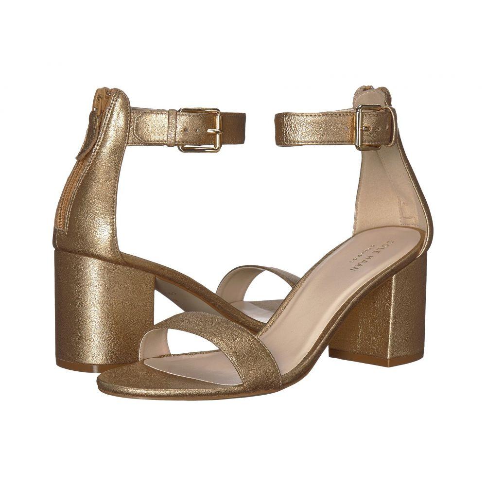 コールハーン Cole Haan レディース サンダル・ミュール シューズ・靴【Clarette Sandal II】Soft Gold Leather