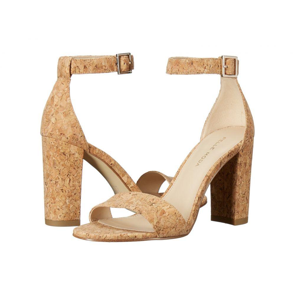 ペレ モーダ Pelle Moda レディース サンダル・ミュール シューズ・靴【Bonnie】Natural Cork