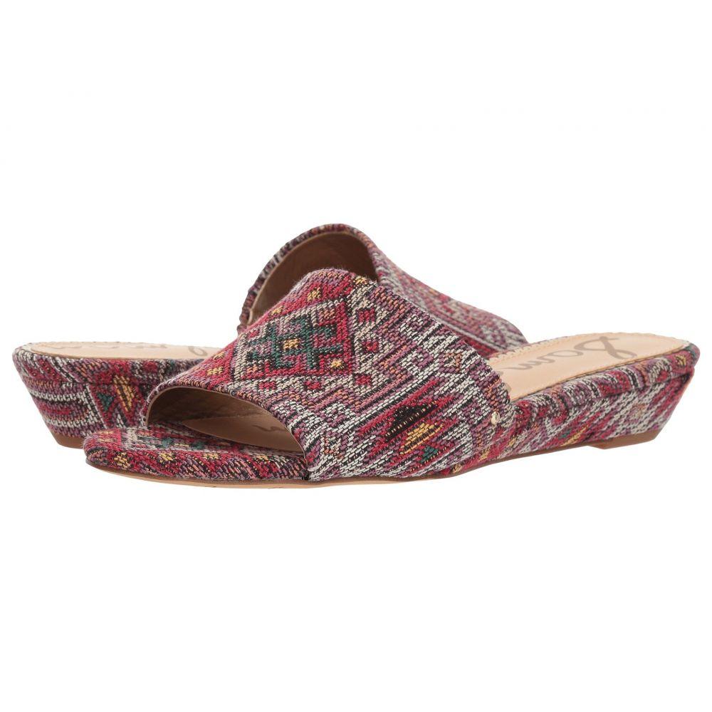 サム エデルマン Sam Edelman レディース サンダル・ミュール シューズ・靴【Liliana】Red Multi Navajo Weave Fabric
