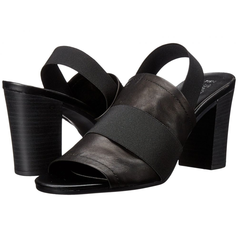 ベラヴィータ Bella-Vita レディース サンダル・ミュール シューズ・靴【Sassari】Black/Black Gore