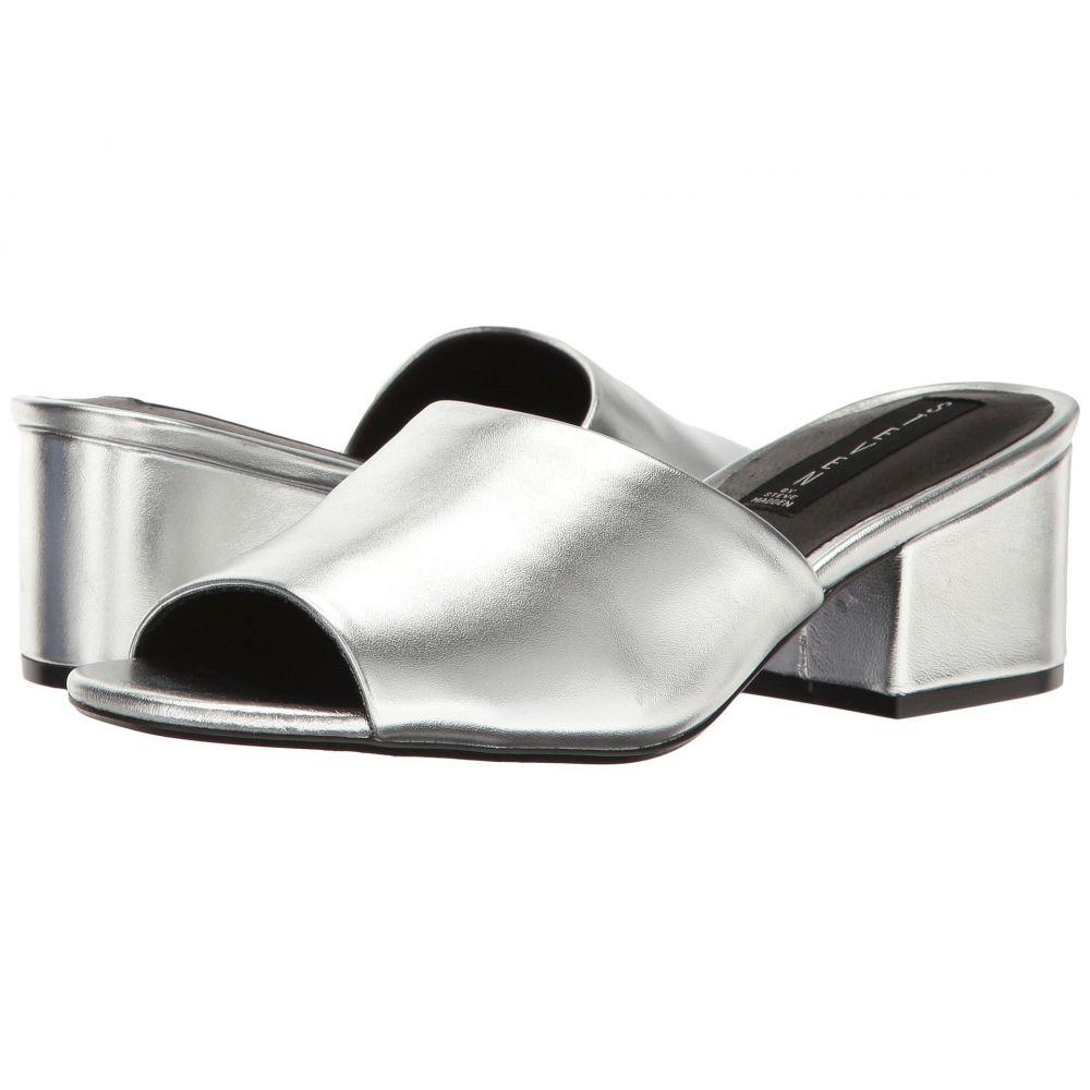スティーブン Steven レディース サンダル・ミュール シューズ・靴【Farren】Silver Leather