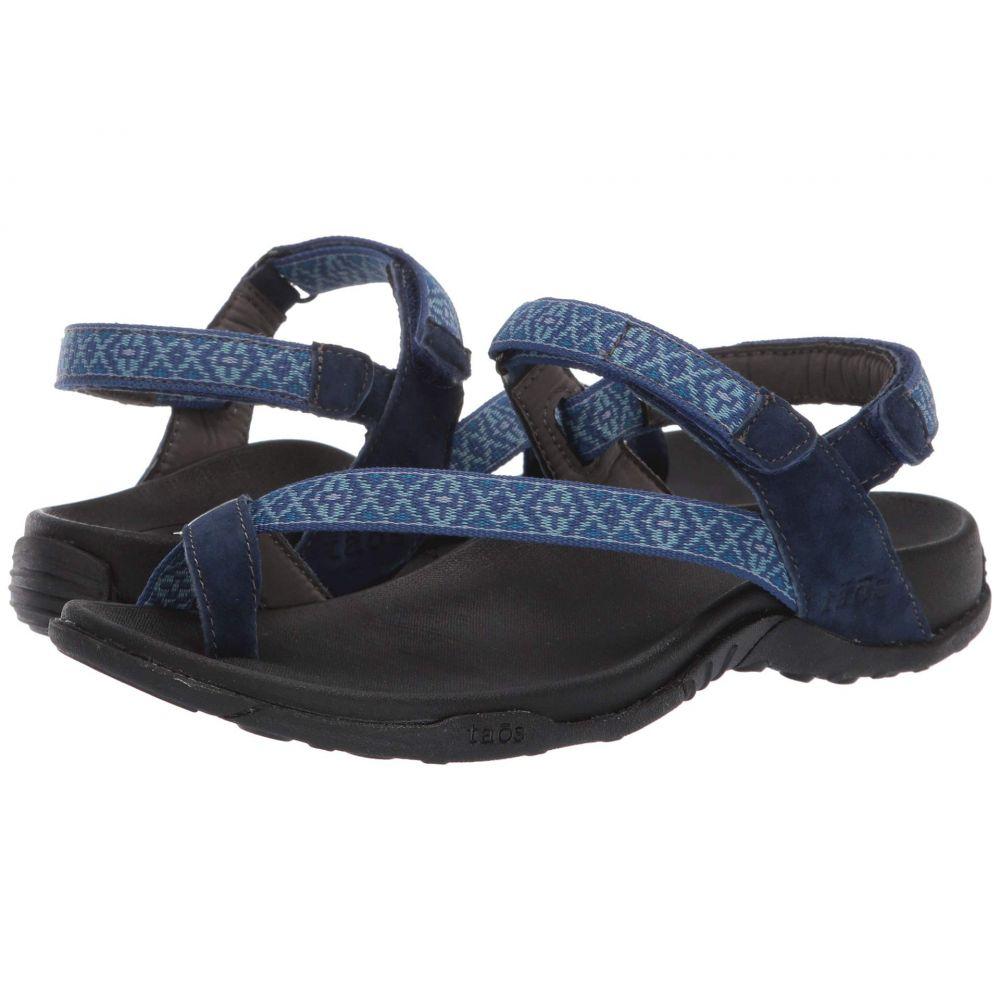 タオス Taos Footwear レディース サンダル・ミュール シューズ・靴【Dynamo】Navy Multi
