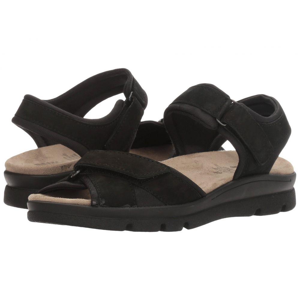 スプリングステップ Spring Step レディース サンダル・ミュール シューズ・靴【Delray】Black
