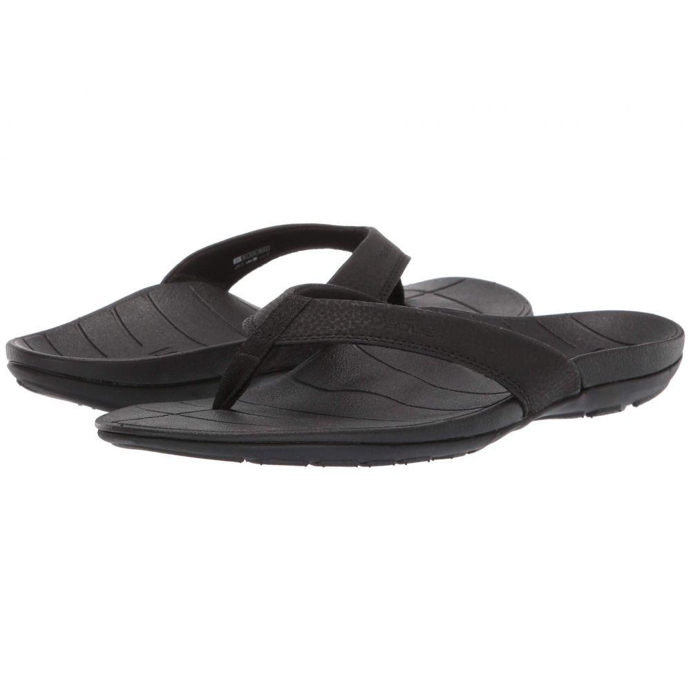 ソール SOLE レディース ビーチサンダル シューズ・靴【Baja Flip】Black
