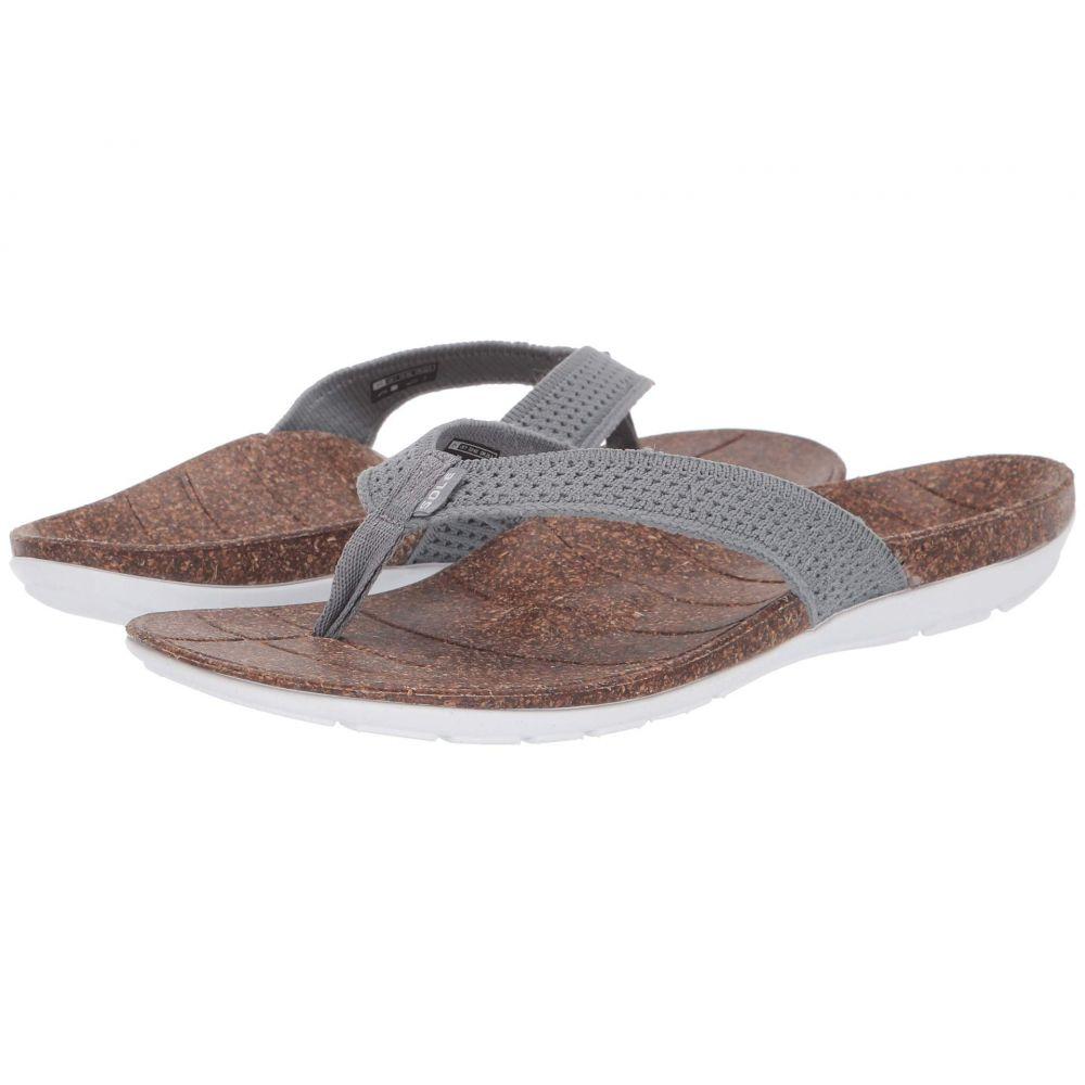 ソール SOLE レディース ビーチサンダル シューズ・靴【Laguna Flip】Grey