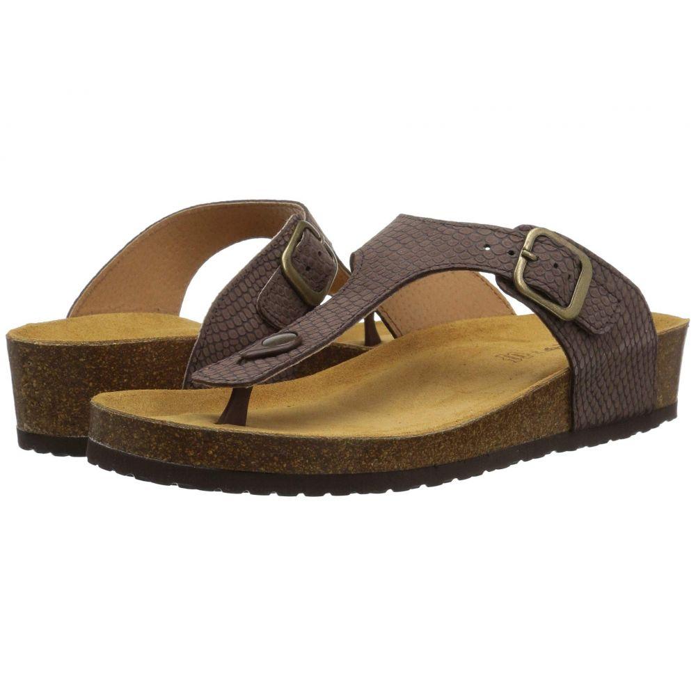 スプリングステップ Spring Step レディース ビーチサンダル シューズ・靴【Estelle】Brown