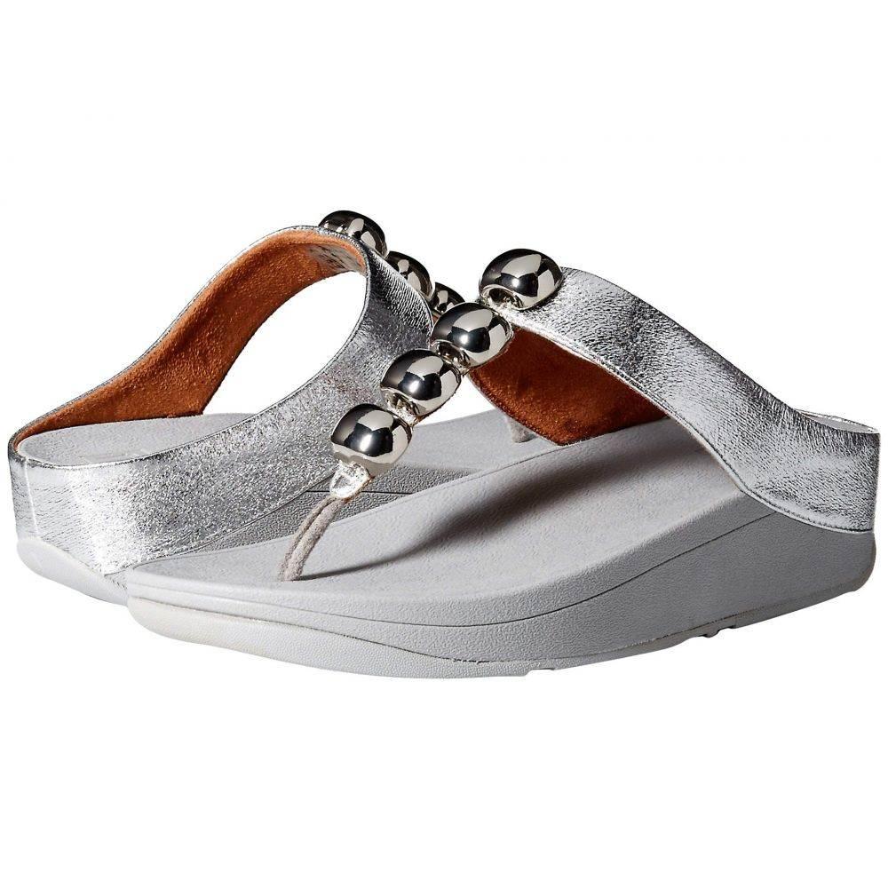 フィットフロップ FitFlop レディース ビーチサンダル シューズ・靴【Rola Glitzy】Silver