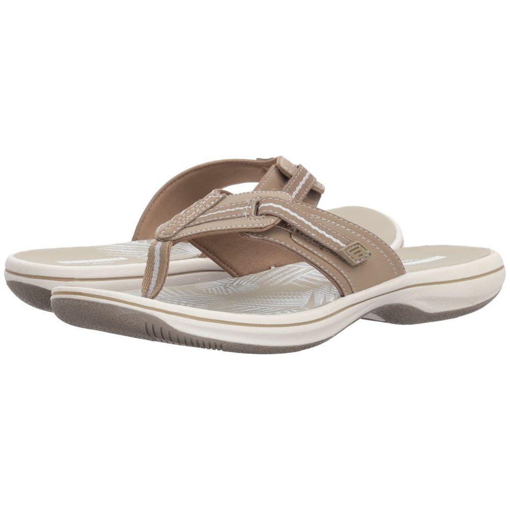 クラークス Clarks レディース ビーチサンダル シューズ・靴【Brinkley Jazz】Sand Synthetic