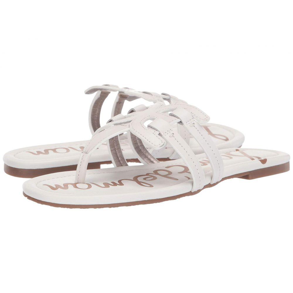 サム エデルマン Sam Edelman レディース ビーチサンダル シューズ・靴【Cara】Bright White Atanado Leather