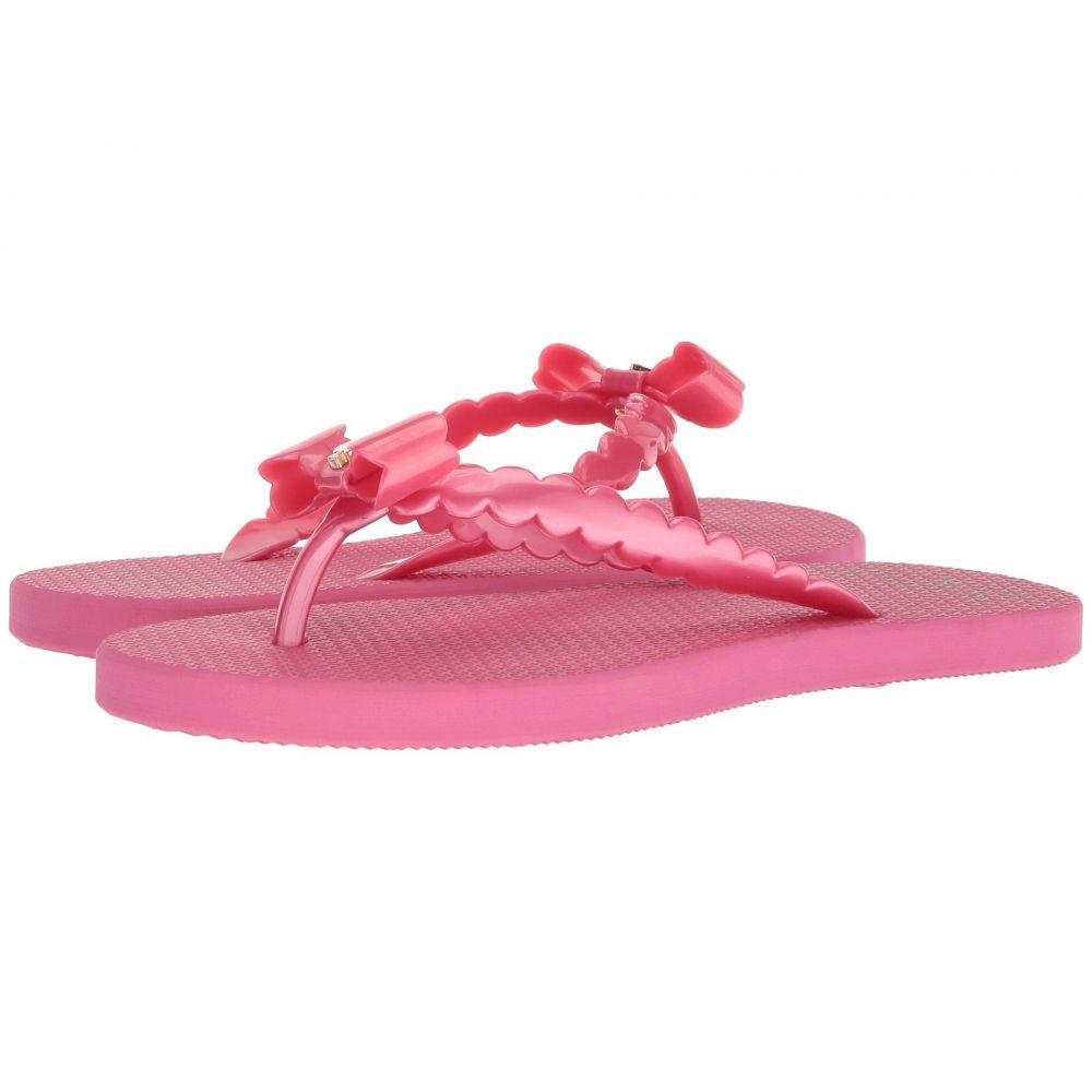ケイト スペード Kate Spade New York レディース ビーチサンダル シューズ・靴【Denise】Deep Pink Rubber