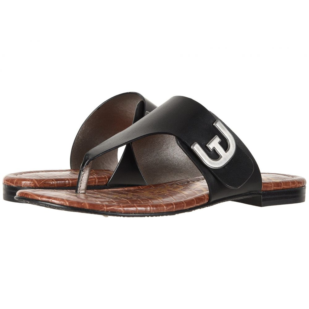 サム エデルマン Sam Edelman レディース ビーチサンダル シューズ・靴【Barry】Black Vaquero Saddle Leather