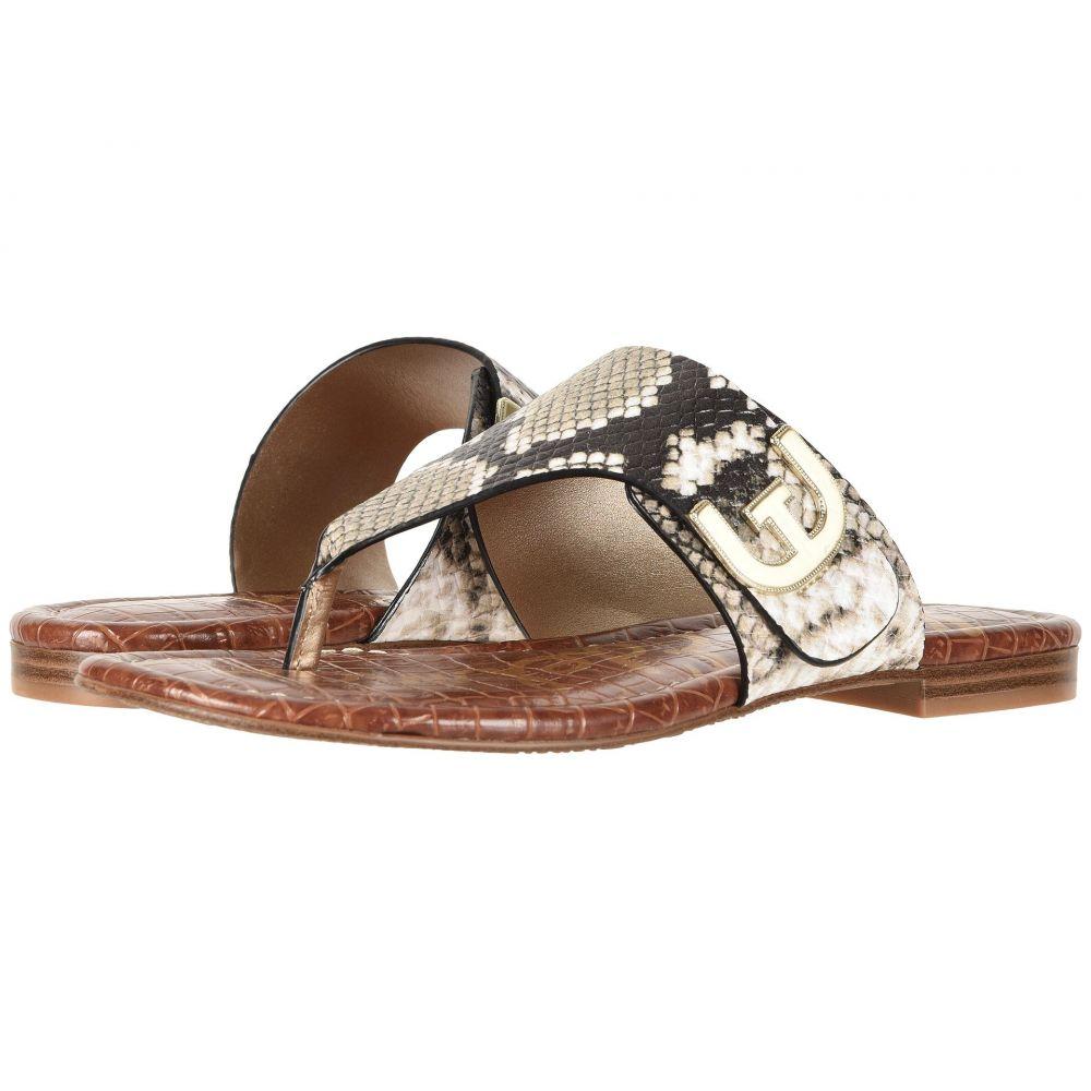 サム エデルマン Sam Edelman レディース ビーチサンダル シューズ・靴【Barry】Natural Royal Snake Print Leather