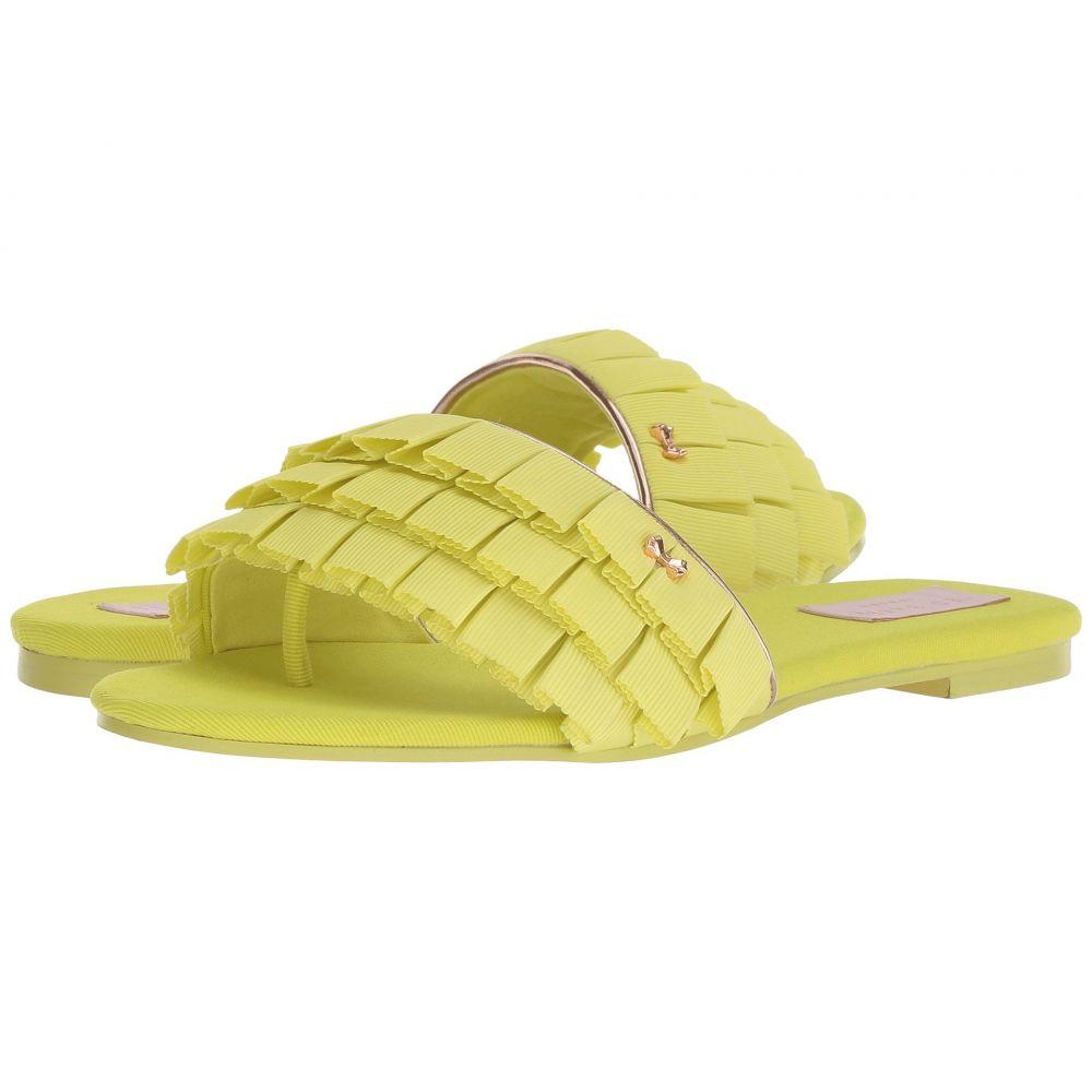 テッドベーカー Ted Baker レディース ビーチサンダル シューズ・靴【Towdi】Yellow