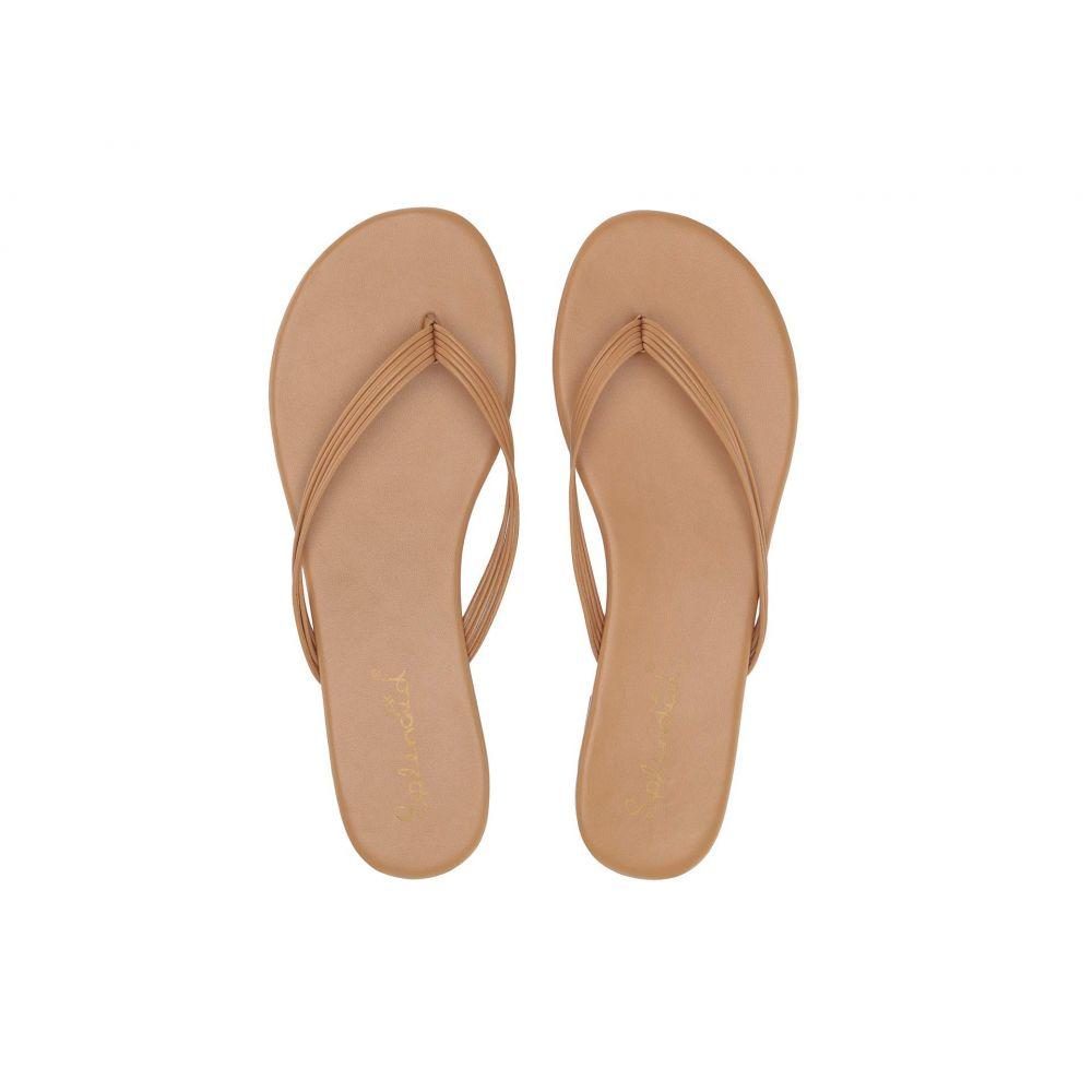 スプレンディッド Splendid レディース ビーチサンダル シューズ・靴【Shyanne】Nude Sheep Nappa Leather