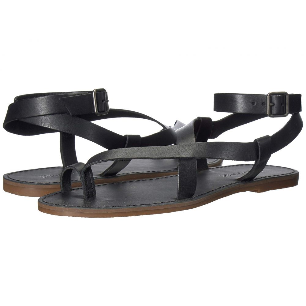 メイドウェル Madewell レディース サンダル・ミュール シューズ・靴【The Boardwalk Bare Sandal】True Black