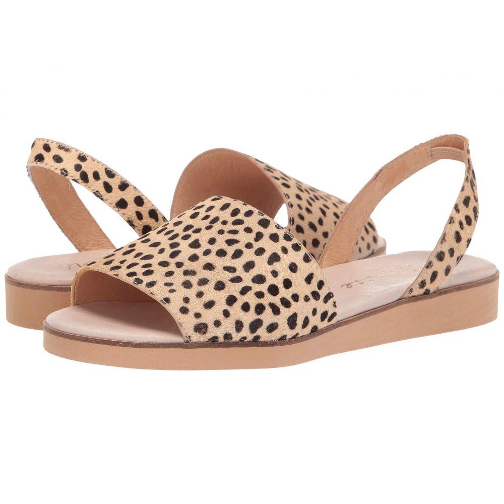 マチス Matisse レディース サンダル・ミュール フラット シューズ・靴【Easy Flat Sandal】Natural Leopard