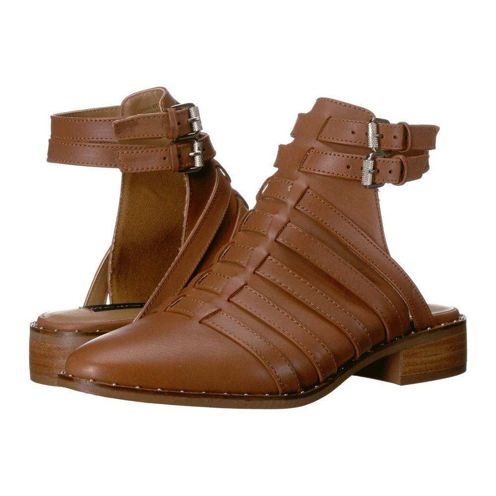 スティーブン Steven レディース サンダル・ミュール シューズ・靴【Charlot】Cognac Leather