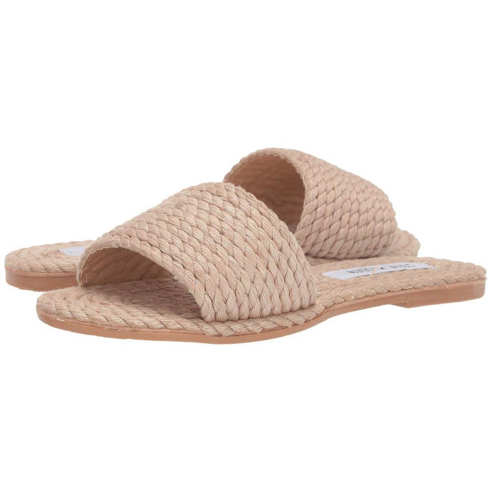 スティーブ マデン Steve Madden レディース サンダル・ミュール フラット シューズ・靴【Roper Flat Sandals】Natural