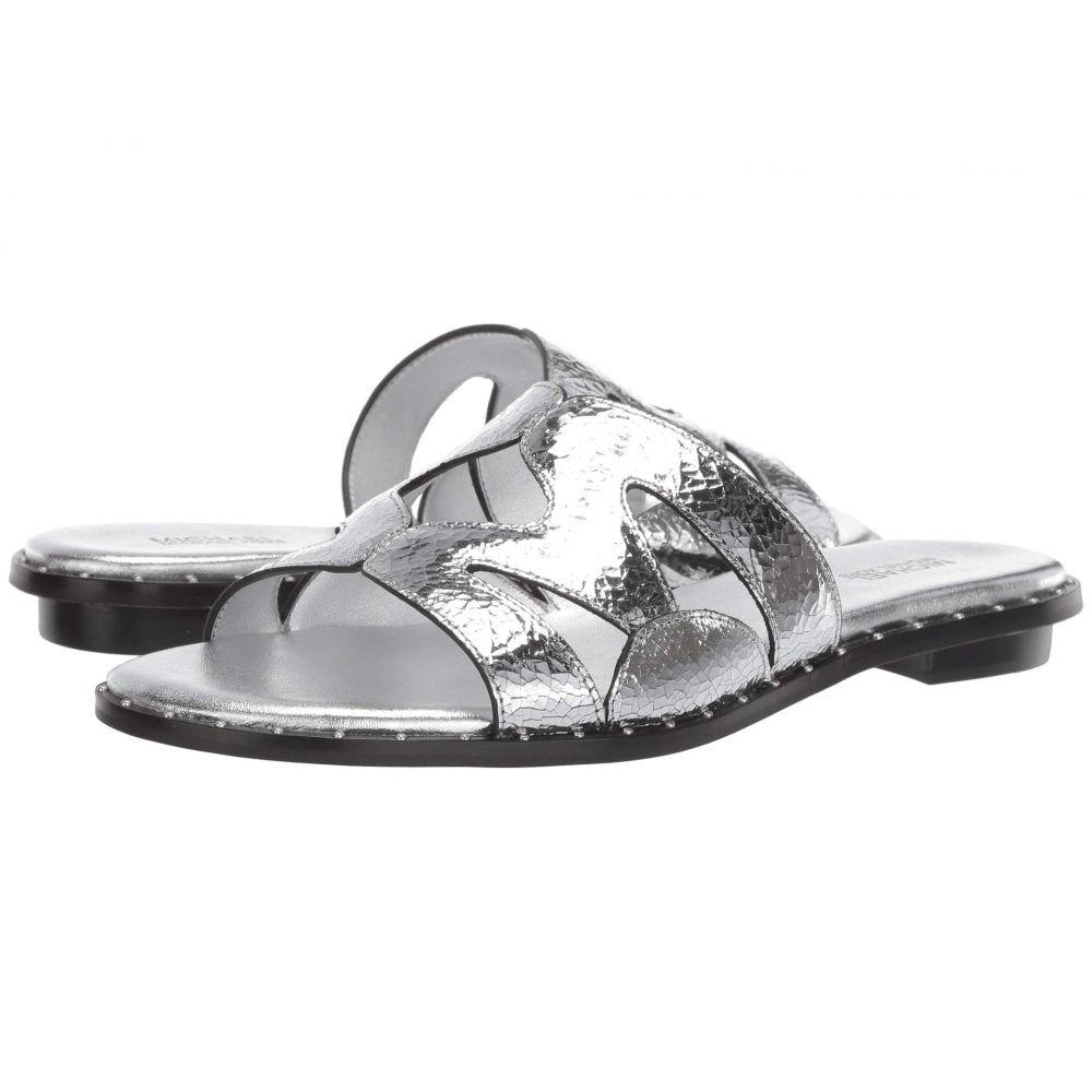 マイケル コース MICHAEL Michael Kors レディース サンダル・ミュール シューズ・靴【Annalee Slide】Silver