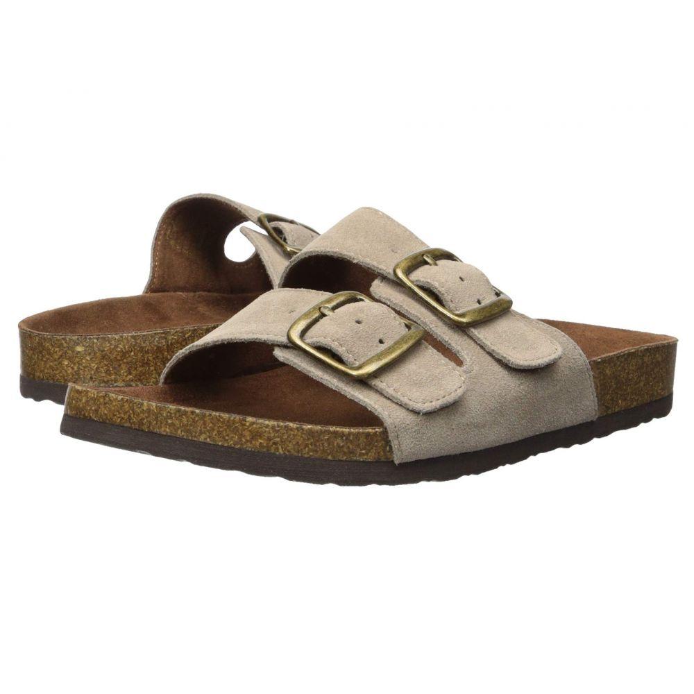 ホワイトマウンテン White Mountain レディース サンダル・ミュール シューズ・靴【Helga】Light Taupe Suede