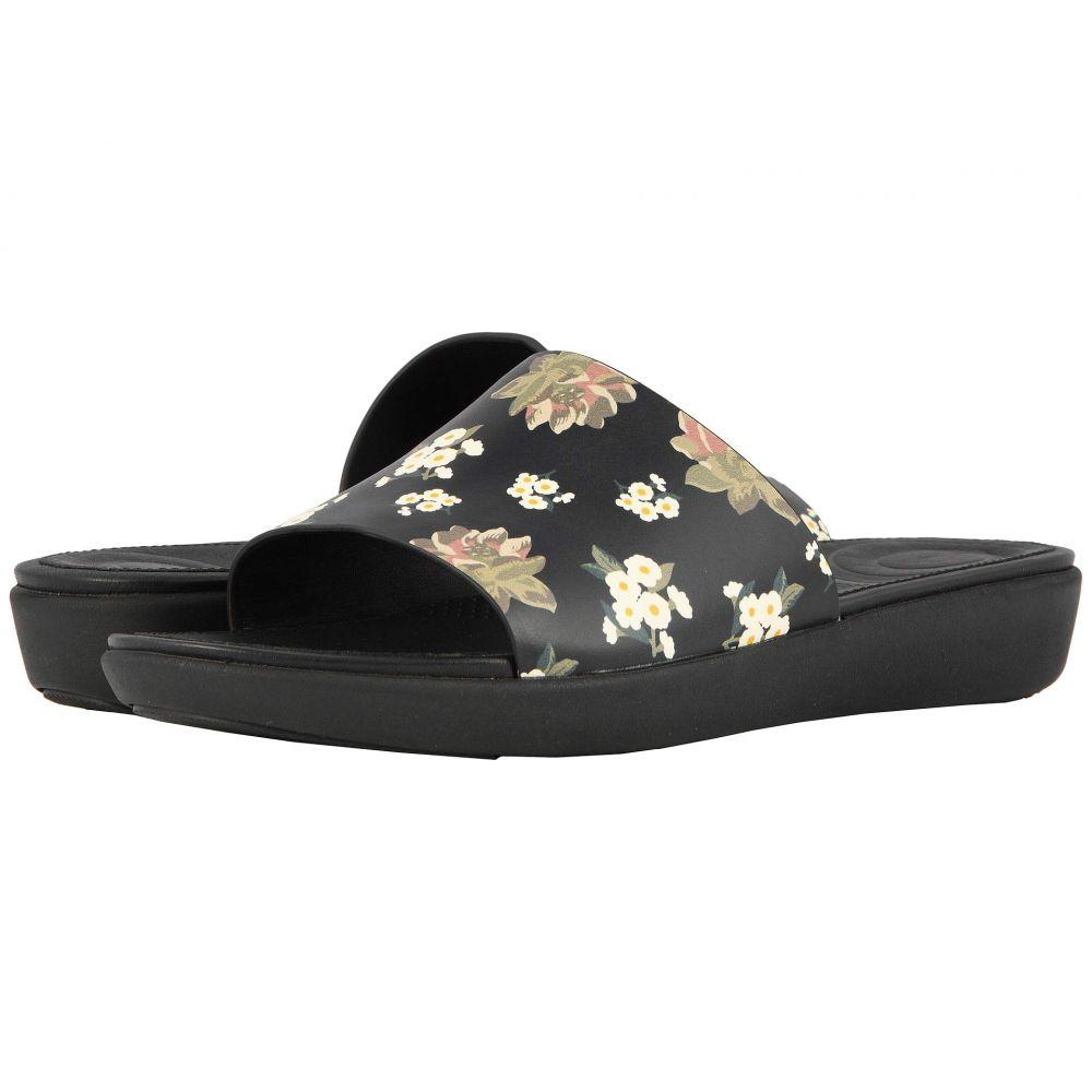 フィットフロップ FitFlop レディース サンダル・ミュール シューズ・靴【Sola Slides】Black