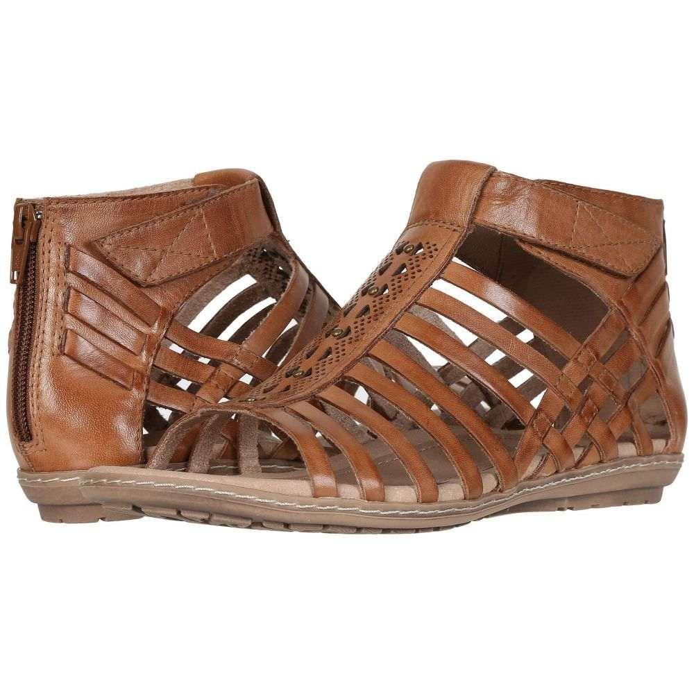 カルソーアースシューズ Earth レディース サンダル・ミュール シューズ・靴【Marconi】Sand Brown Eco Calf