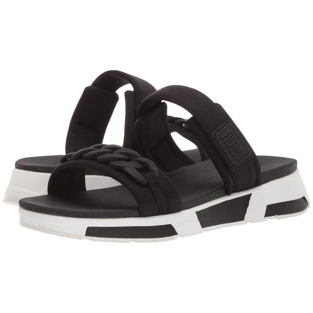 フィットフロップ FitFlop レディース サンダル・ミュール シューズ・靴【Heda Chain Slide】Black