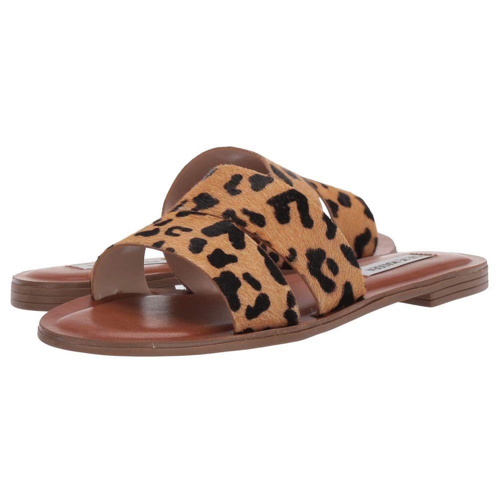 スティーブ マデン Steve Madden レディース サンダル・ミュール フラット シューズ・靴【Alexandra - L Flat Sandals】Leopard
