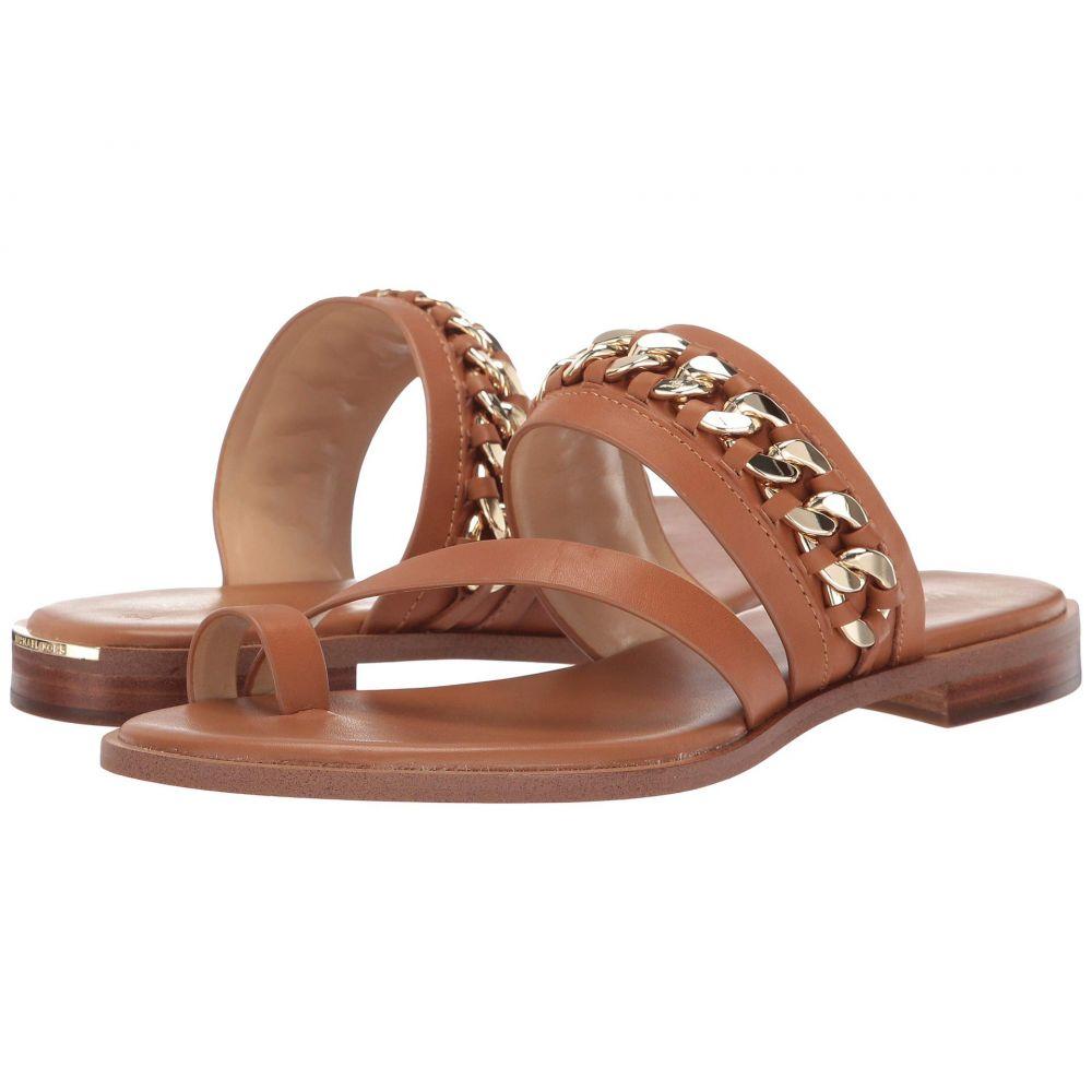 マイケル コース MICHAEL Michael Kors レディース サンダル・ミュール フラット シューズ・靴【Bergen Flat Sandal】Acorn