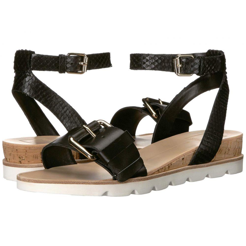 ドルチェヴィータ Dolce Vita レディース サンダル・ミュール シューズ・靴【Virgo】Black Leather
