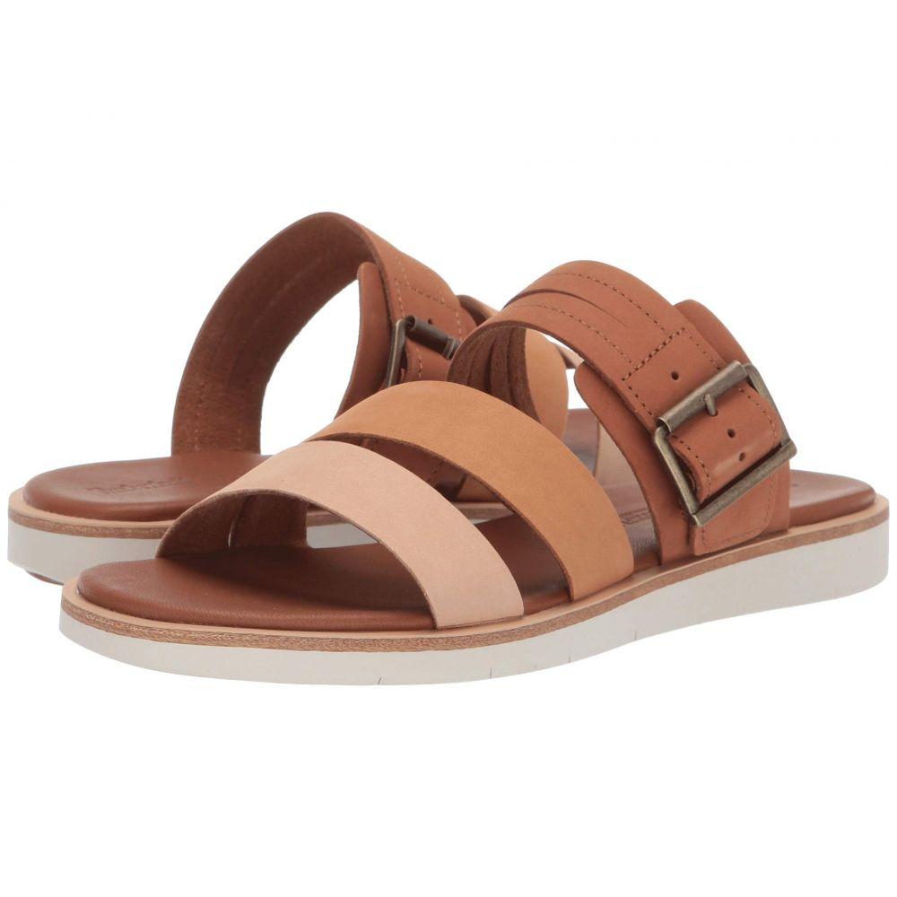 ティンバーランド Timberland レディース サンダル・ミュール シューズ・靴【Adley Shore Slide】Medium Brown Multi