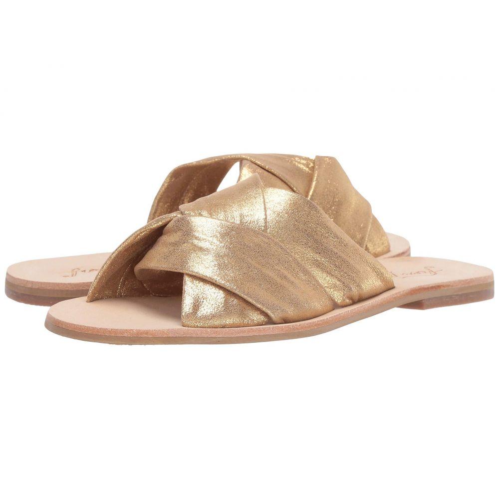 フリーピープル Free People レディース サンダル・ミュール スライドサンダル シューズ・靴【Rio Vista Slide Sandal】Gold