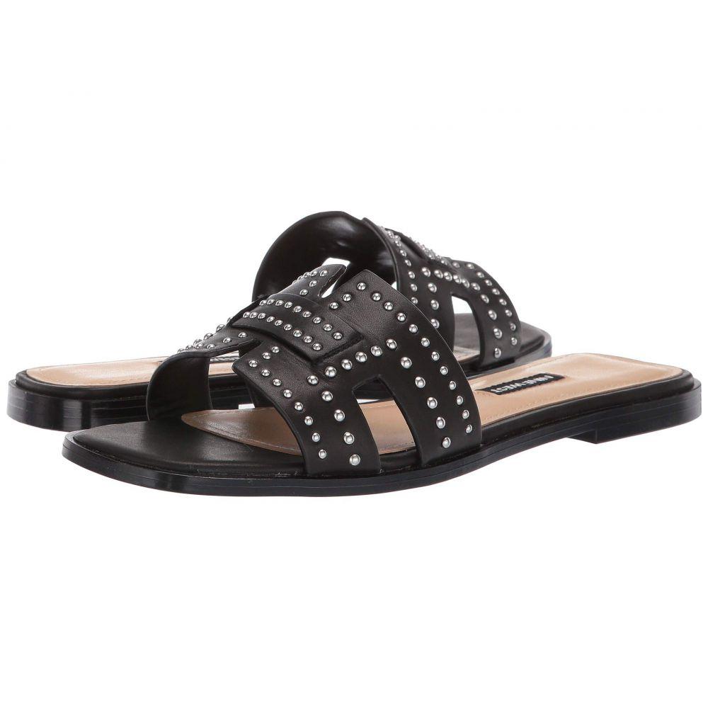 ナインウェスト Nine West レディース サンダル・ミュール スライドサンダル シューズ・靴【Genesia Studded Slide Sandal】Black