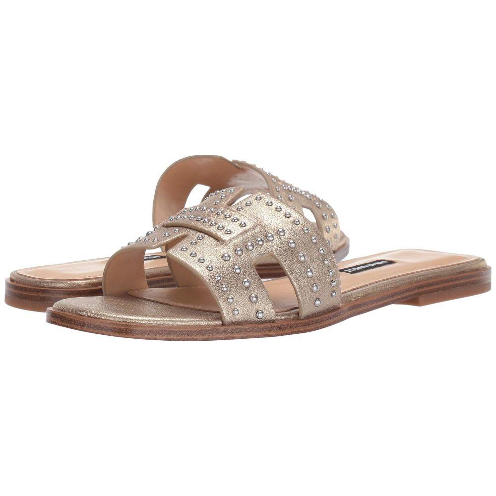 ナインウェスト Nine West レディース サンダル・ミュール スライドサンダル シューズ・靴【Genesia Studded Slide Sandal】Gold