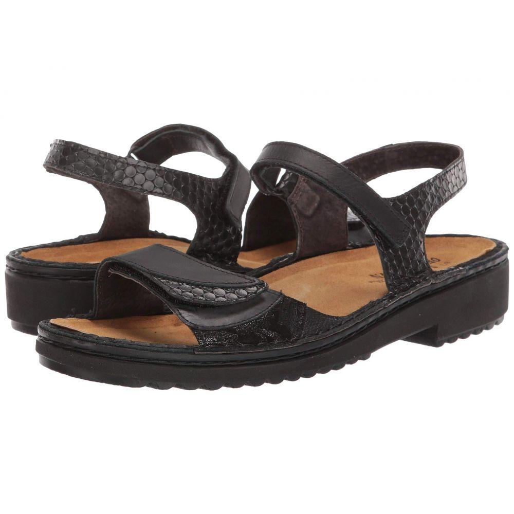 ナオト Naot レディース サンダル・ミュール シューズ・靴【Tabitha】Black Leather Combination