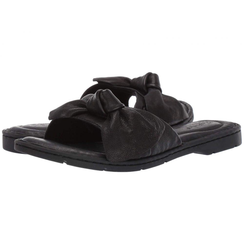 ボーン Born レディース サンダル・ミュール シューズ・靴【Teton】Black Full Grain Leather