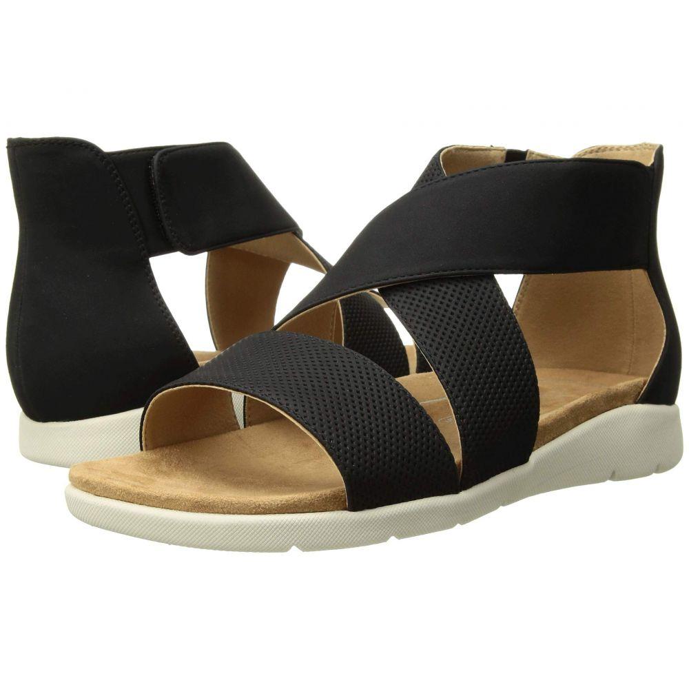 ロックポート Rockport レディース サンダル・ミュール シューズ・靴【Eileen Two-Piece】Black