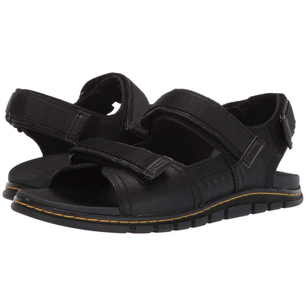 ドクターマーチン Dr. Martens レディース サンダル・ミュール シューズ・靴【Athens Sandal】Black Carpathian/Webbing