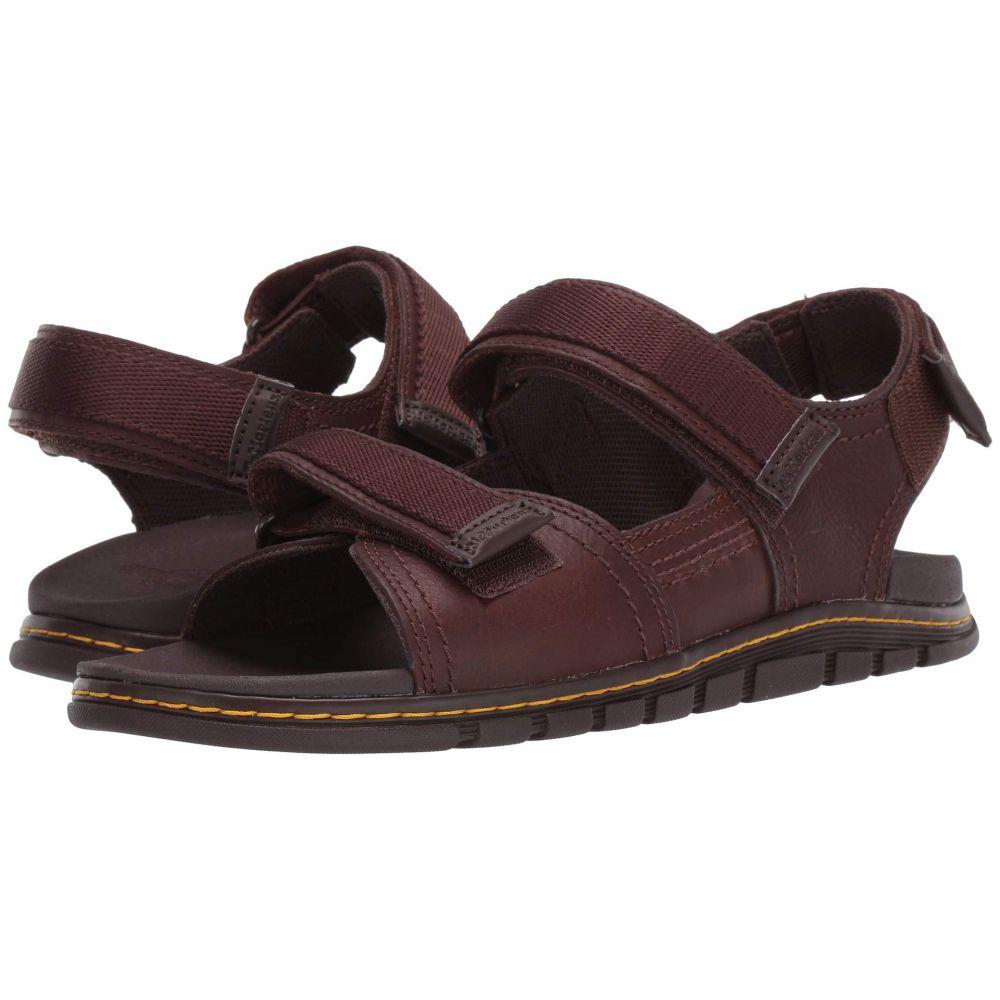 ドクターマーチン Dr. Martens レディース サンダル・ミュール シューズ・靴【Athens Sandal】Tan/Dark Brown Carpathian/Webbing