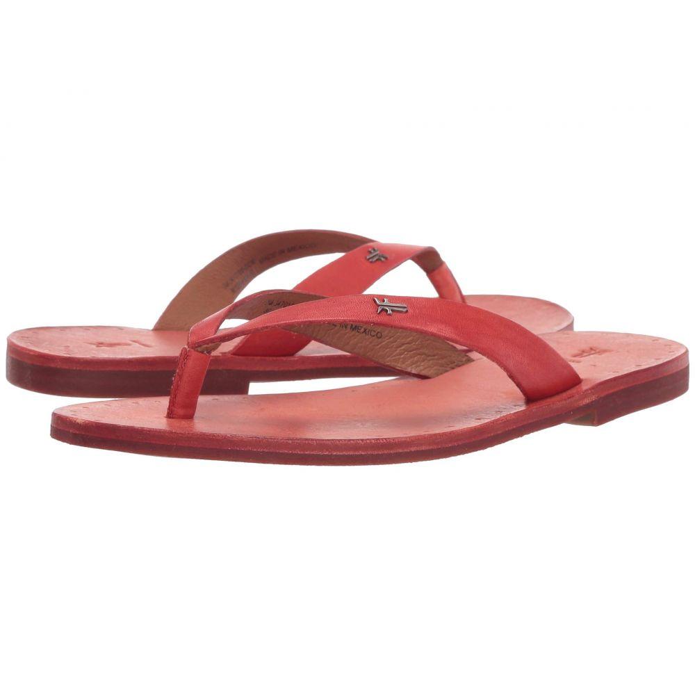 フライ Frye レディース ビーチサンダル シューズ・靴【Azalea Logo Flip-Flop】Coral Antique Veg Tan