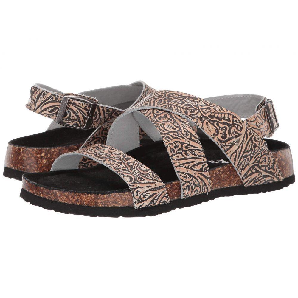 ローパー Roper レディース サンダル・ミュール シューズ・靴【Stella】Floral Embossed Leather