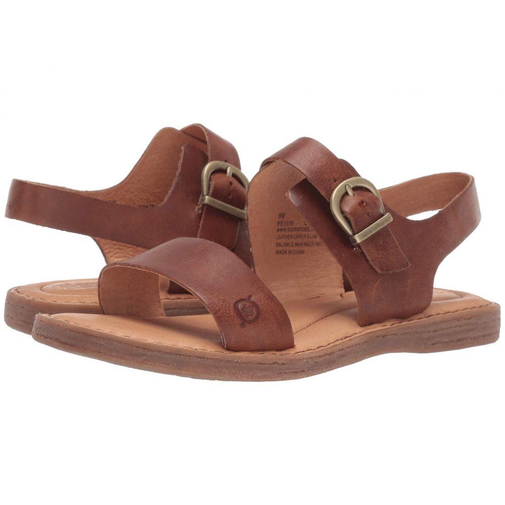 ボーン Born レディース サンダル・ミュール シューズ・靴【Selway】Tan Full Grain Leather