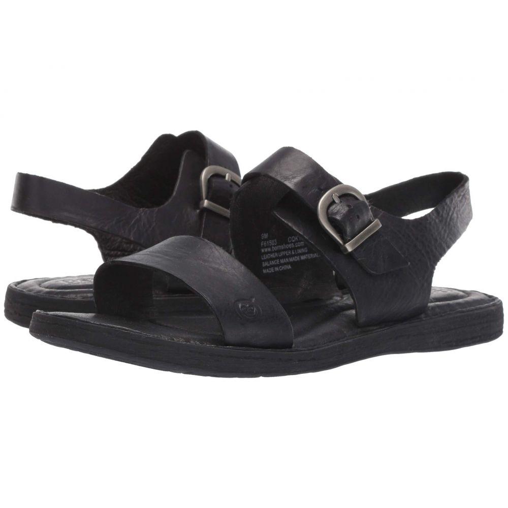 ボーン Born レディース サンダル・ミュール シューズ・靴【Selway】Black Full Grain Leather