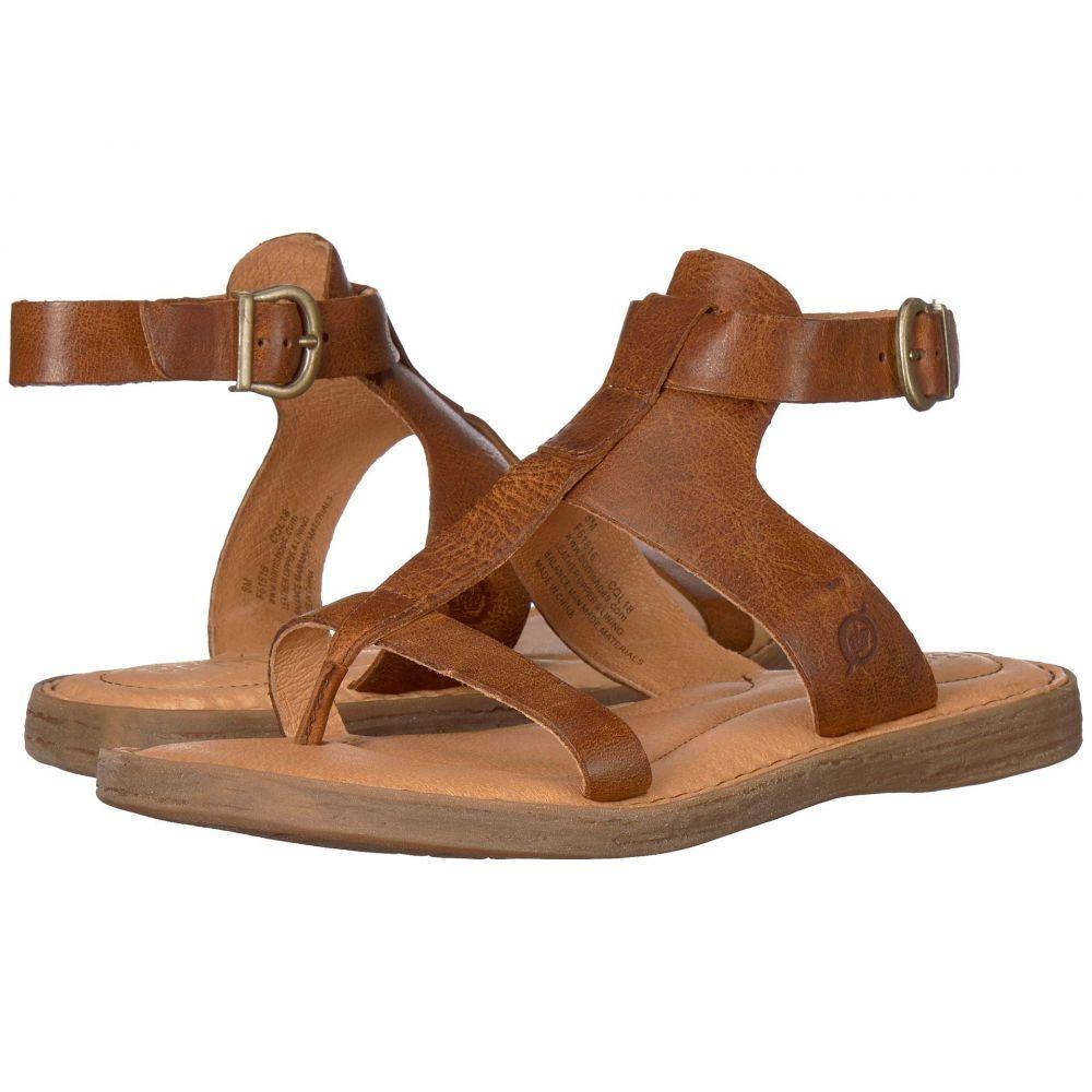 ボーン Born レディース サンダル・ミュール シューズ・靴【St. Helens】Tan Full Grain Leather