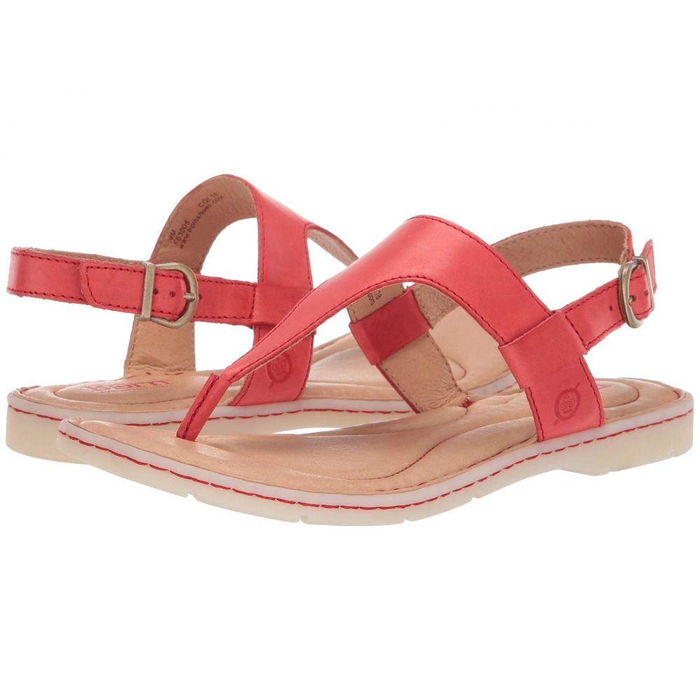 ボーン Born レディース サンダル・ミュール シューズ・靴【Taylor】Red Full Grain Leather