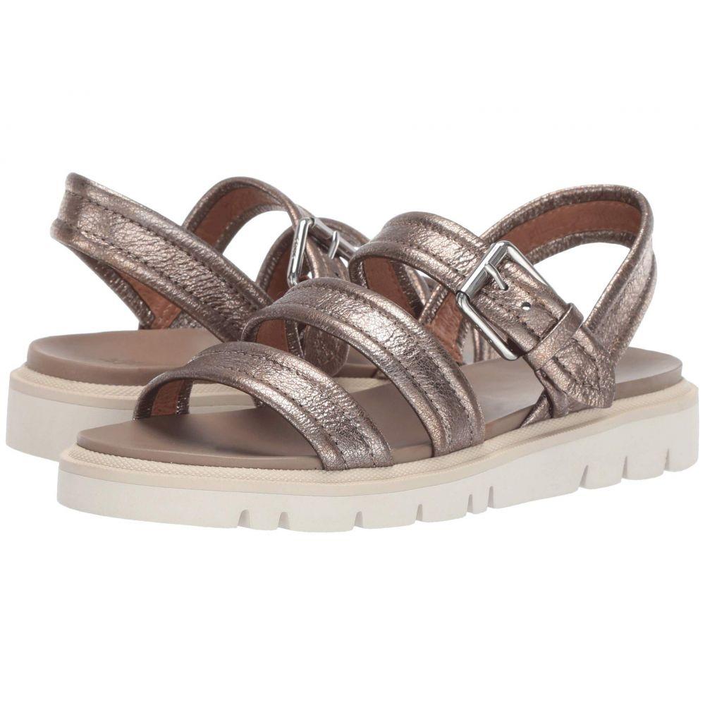 フライ Frye レディース サンダル・ミュール シューズ・靴【Mila Strappy Sandal】Golden Silver