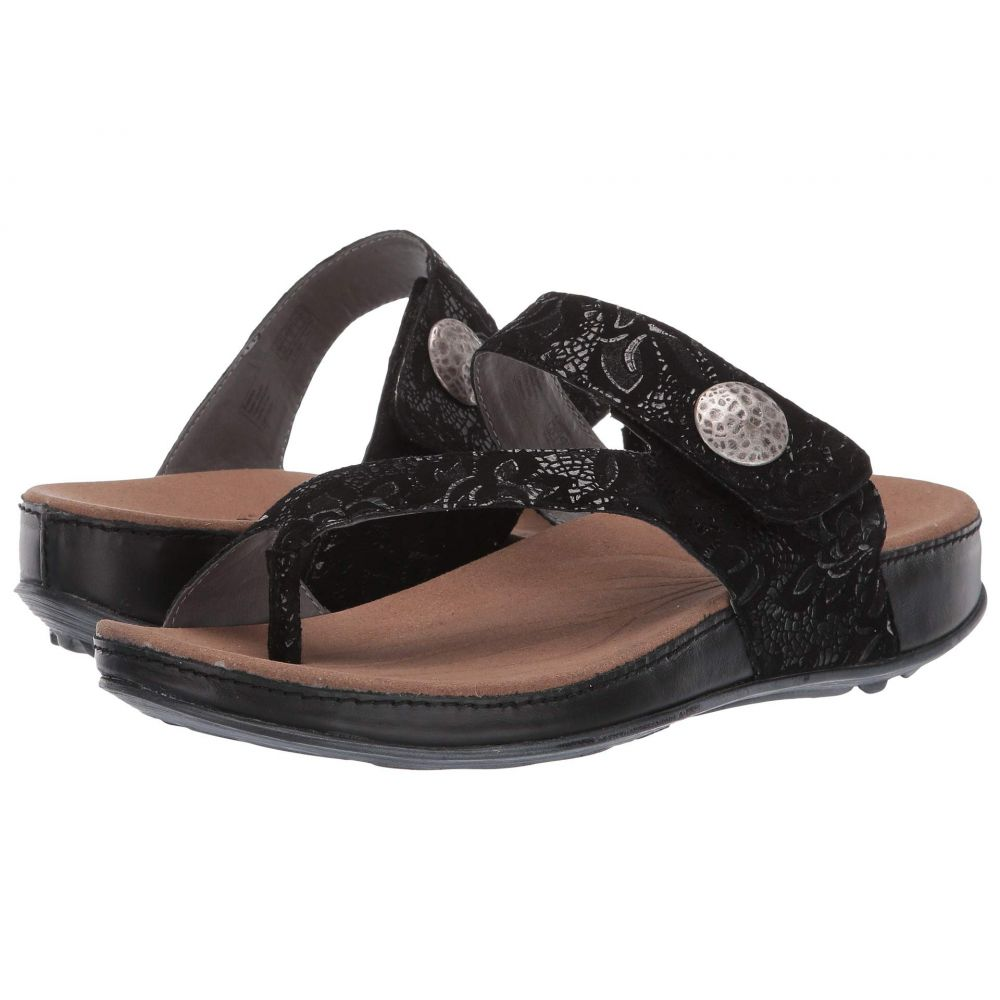 ロミカ Romika レディース サンダル・ミュール シューズ・靴【Fidschi 59】Black