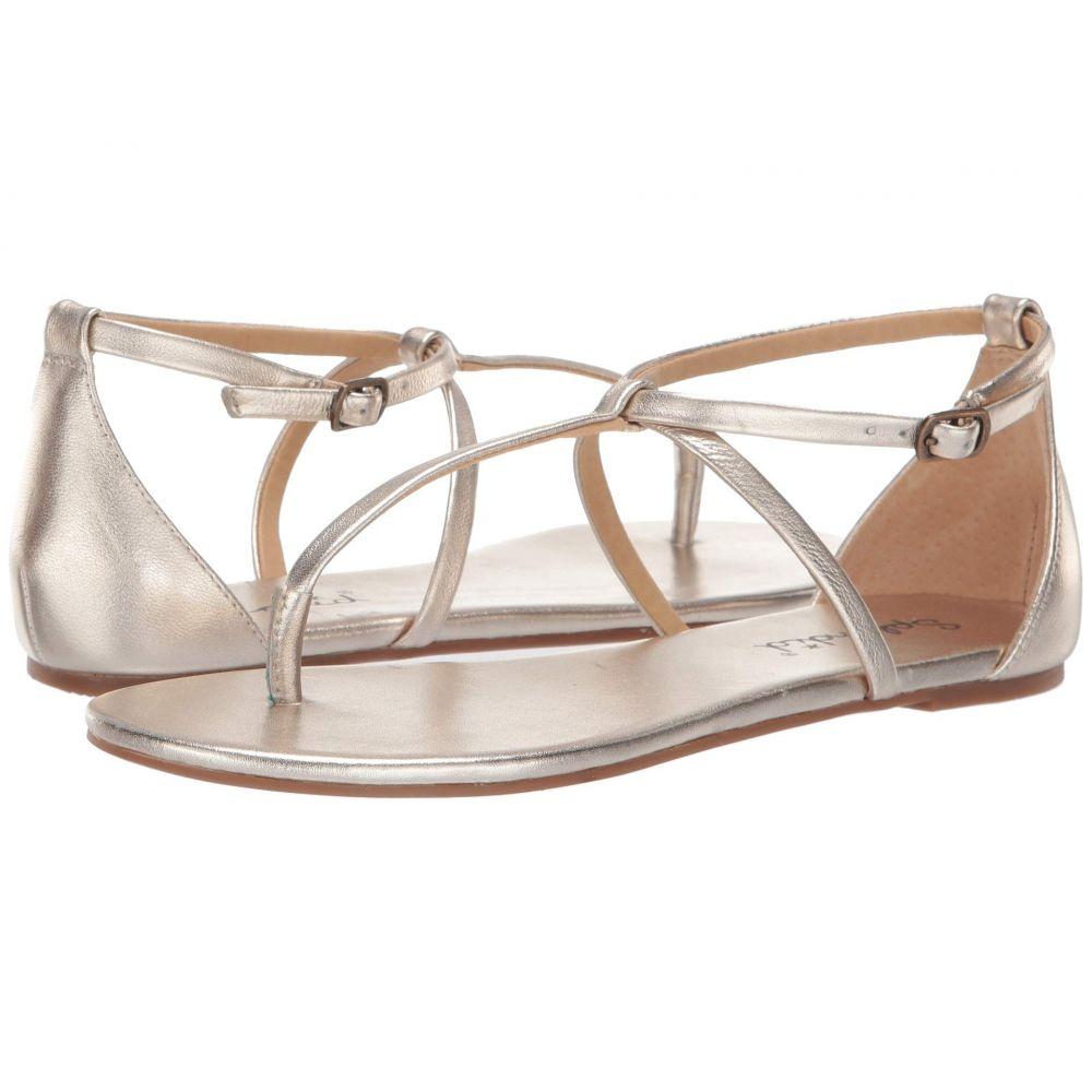 スプレンディッド Splendid レディース サンダル・ミュール シューズ・靴【Sundae】Gold Metallic Leather