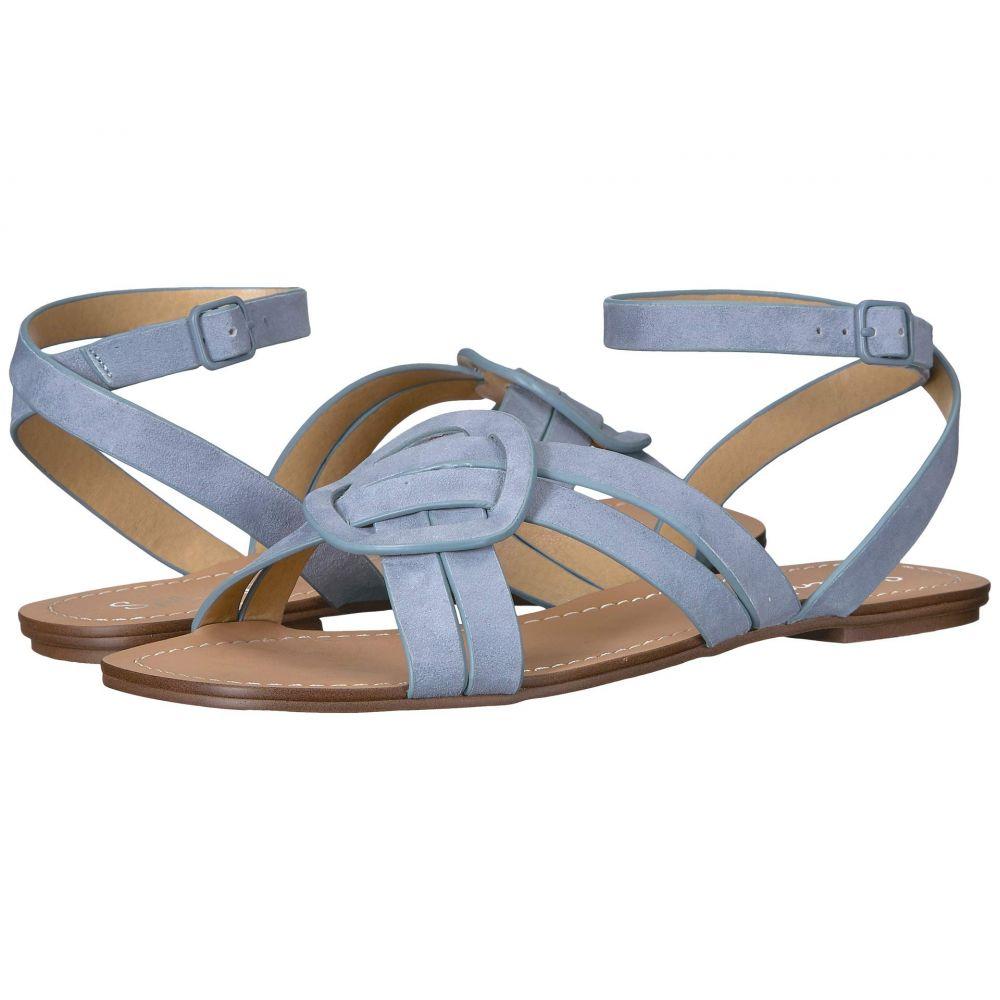 スプレンディッド Splendid レディース サンダル・ミュール シューズ・靴【Talea】Light Blue Suede