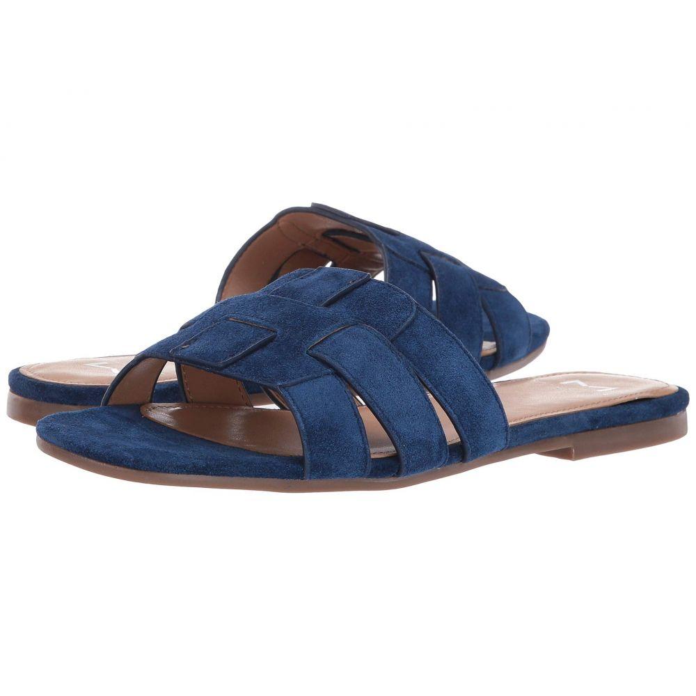 マーク フィッシャー Marc Fisher LTD レディース サンダル・ミュール シューズ・靴【Kayli】Medium Blue Suede
